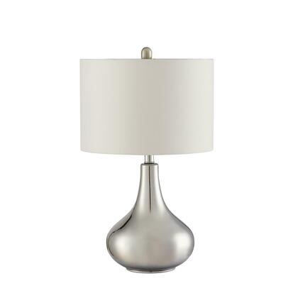 Contemporary Chrome Table Lamp