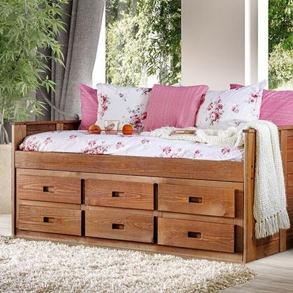 See Details - Lia Twin Captain Bed