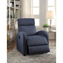 BLUE RECLINER W/POWER LIFT