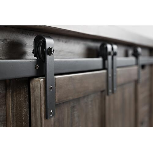 "Madison County 60"" Barn Door Server"