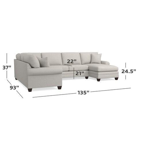CU.2 Custom Sectional, Arm Style Track