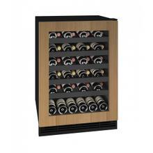 """See Details - Hwc124 24"""" Wine Refrigerator With Integrated Frame Finish (115v/60 Hz Volts /60 Hz Hz)"""