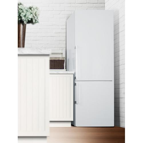 "28"" Wide Bottom Freezer Refrigerator"