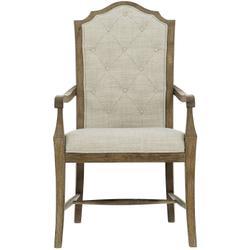 Rustic Patina Arm Chair in Peppercorn (387)