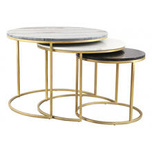 See Details - Franco Nesting Coffee Tables Multicolor
