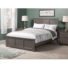 Madison Full Bed with Matching Foot Board in Atlantic Grey