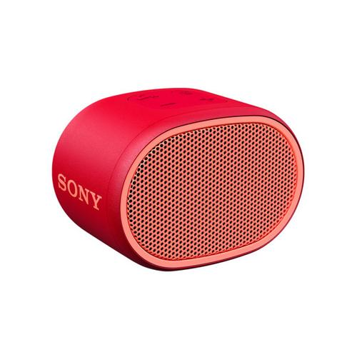 Sony - EXTRA BASS™ Portable Bluetooth ® Wireless Speaker - Red