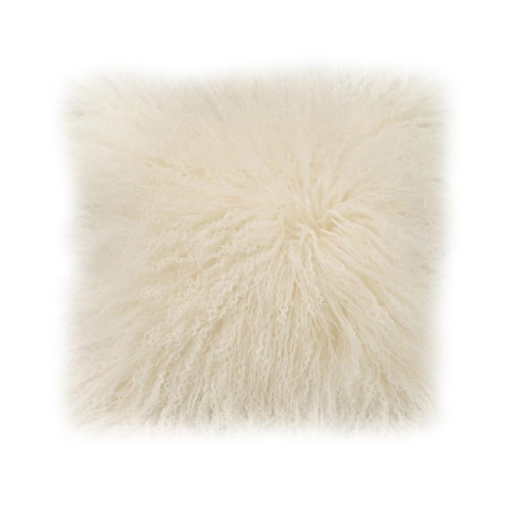 See Details - Lamb Fur Pillow Cream