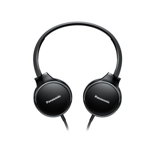 Lightweight On-Ear Headphones with Mic and Controller - Black - RP-HF300M-K