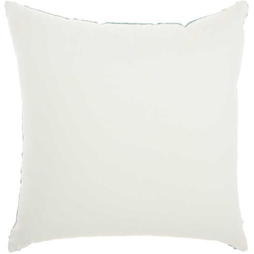"""Life Styles L1023 Celadon 18"""" X 18"""" Throw Pillow"""