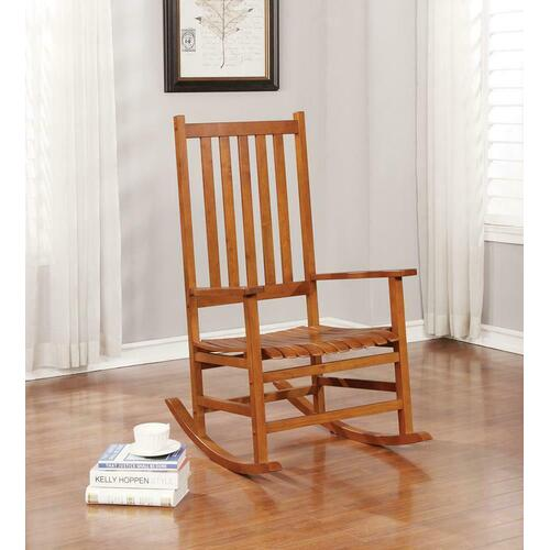 Coaster - Traditional Wood Rocking Chair