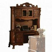 ACME Dresden Computer Desk & Hutch - 12172 - Cherry Oak Product Image