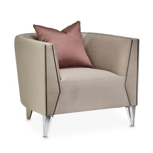 Linea Matching Chair Metallic Silvermist