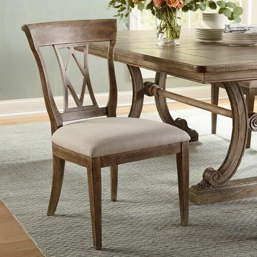 Bassett Furniture - Woodridge Wood Back Side Chair