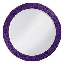 View Product - Lancelot Mirror - Glossy Royal Purple