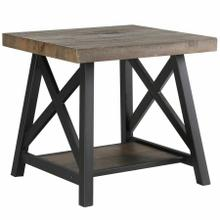 See Details - Langport Accent Table in Rustic Oak