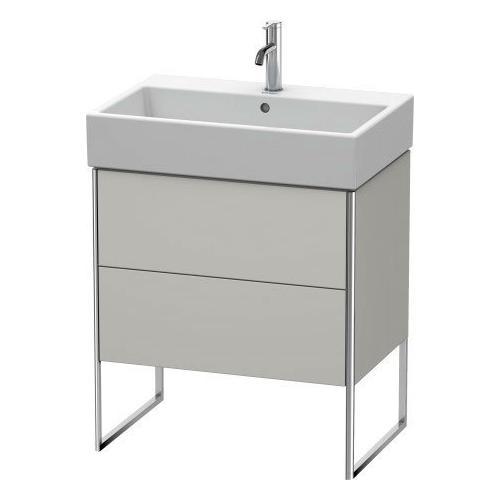 Vanity Unit Floorstanding, For Vero Air # 235070concrete Gray Matte (decor)