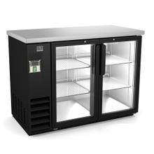 "View Product - Refrigeration Equipment Bar Equipment 2-glass door Refrigerator, 11.8 cu.ft, 48"" (R290)"