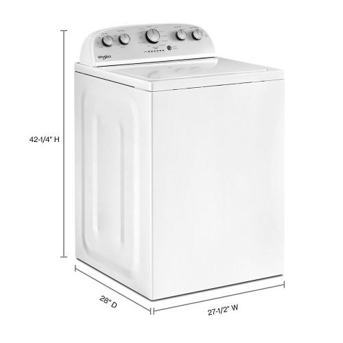 Whirlpool - 4.3 cu.ft Top Load Washer with Quick Wash, 12 cycles
