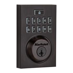 914 SmartCode Contemporary Electronic Deadbolt with Z-Wave Technology - Venetian Bronze