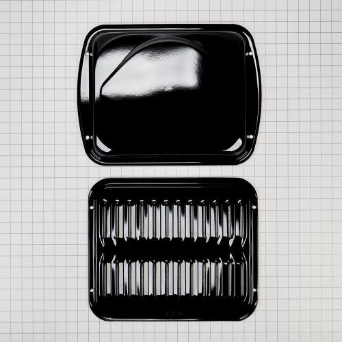 Premium Broiler Pan and Roasting Rack