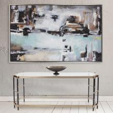 See Details - Graham Brushed Brass Console Table