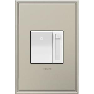 Paddle Dimmer Switch, 1100W Incandescent/Halogen, White