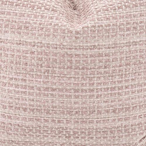 Howard Elliott - Scroll Puff Ottoman Alton Blush