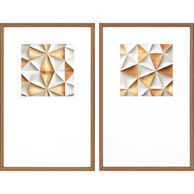 Origami Luxe S/2