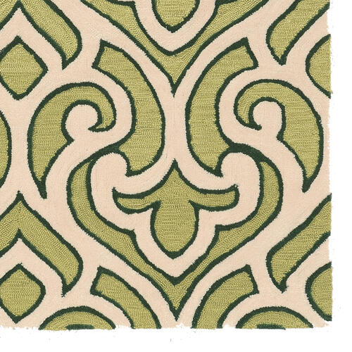 Trio Cream Green 1ft10in X 2ft10in