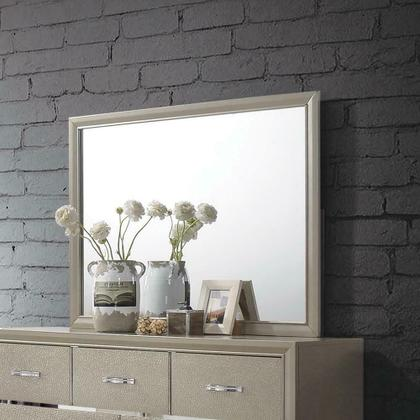 Beaumont Transitional Champagne Mirror