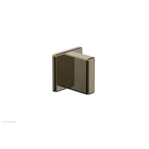 MIX Volume Control/Diverter Trim - Blade Handle 290-35 - Antique Brass