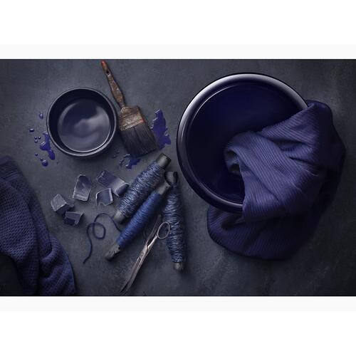 Indigo Blue Drop-in/undermount Bathroom Sink