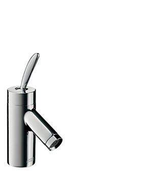 Chrome Single lever basin mixer 60 for hand washbasins with pop-up waste set Product Image