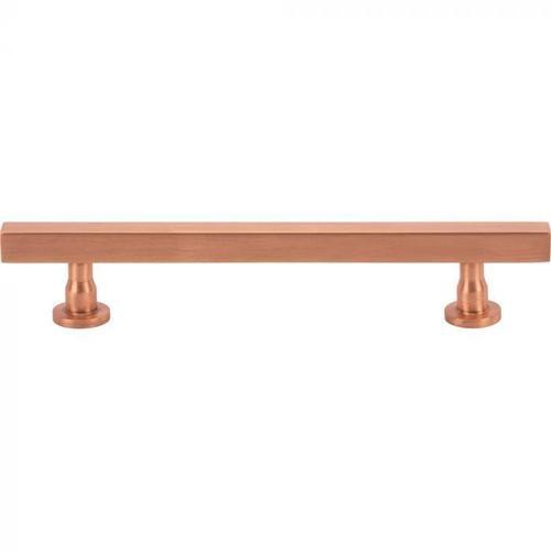 Vesta Fine Hardware - Dante Pull 5 1/16 Inch (c-c) Satin Copper Satin Copper