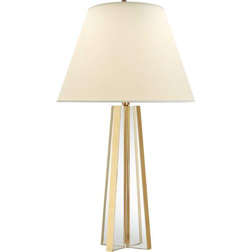 Visual Comfort - Alexa Hampton Lila 34 inch 100.00 watt Crystal with Gild Table Lamp Portable Light