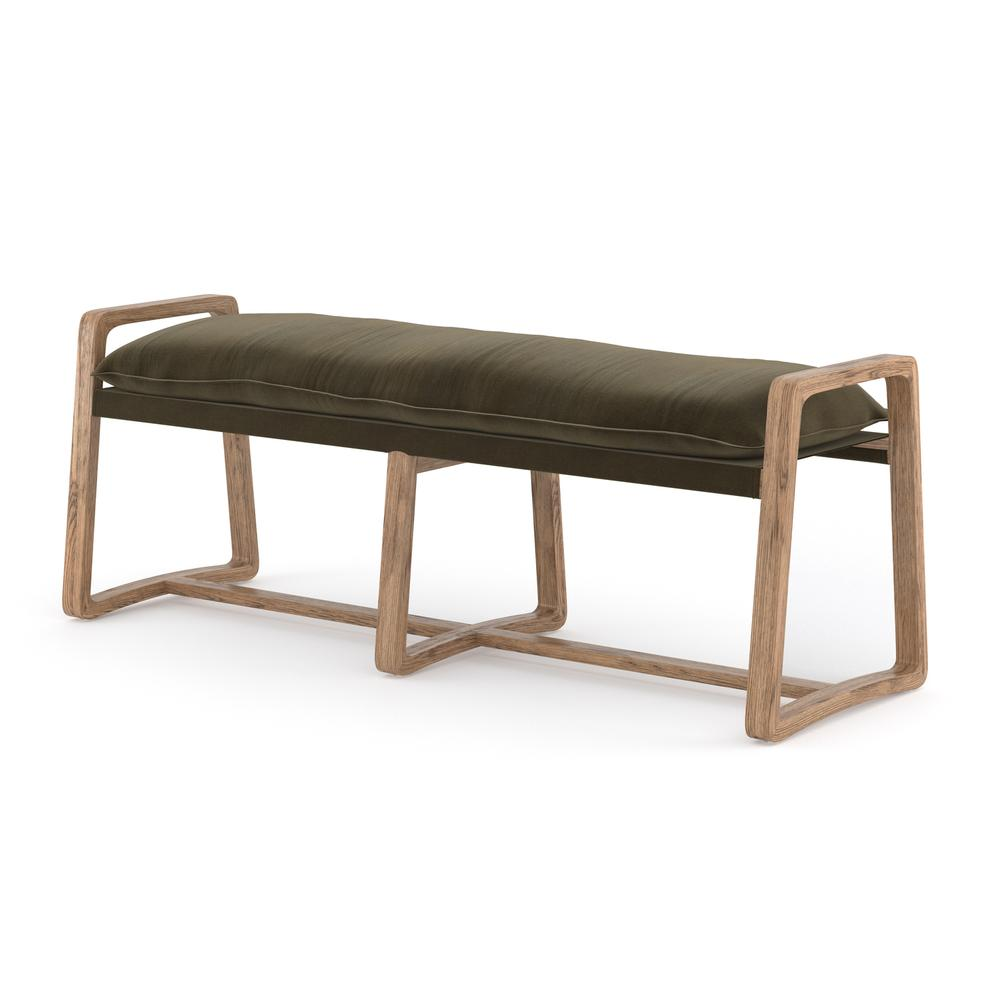 Olive Green Cover Ace Bench