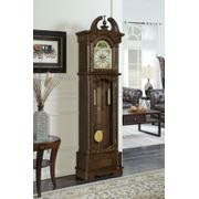 Traditional Brown Grandfather Clock Product Image