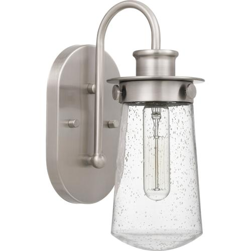 Quoizel - Lewiston Wall Sconce in Brushed Nickel