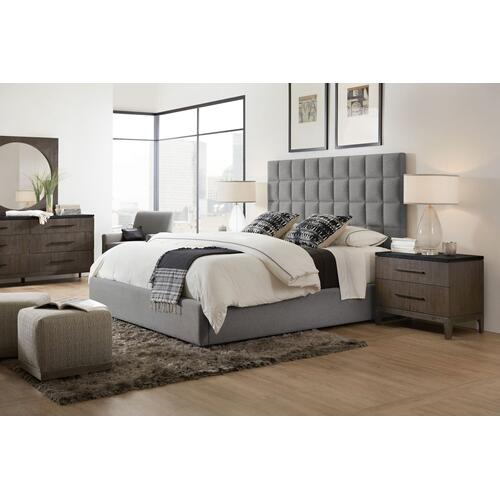 Bedroom Miramar Aventura Moreno 6/0-6/6 Box Tufted Headboard