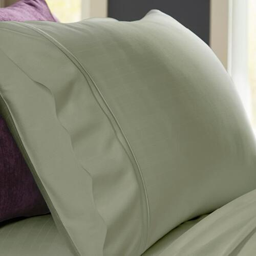 Bamboo Pillowcase Set - Sage / King
