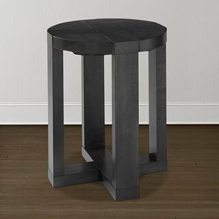 Skyline Maple Round End Table