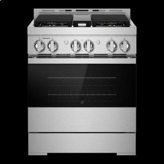 "30"" NOIR™ Gas Professional-Style Range"