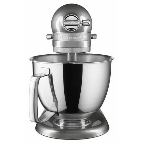 KitchenAid - Artisan® Mini 3.5 Quart Tilt-Head Stand Mixer - Medallion Silver