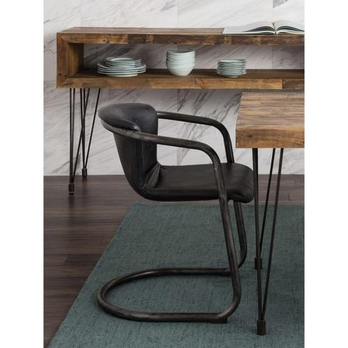 Moe's Home Collection - Freeman Dining Chair Antique Black-m2