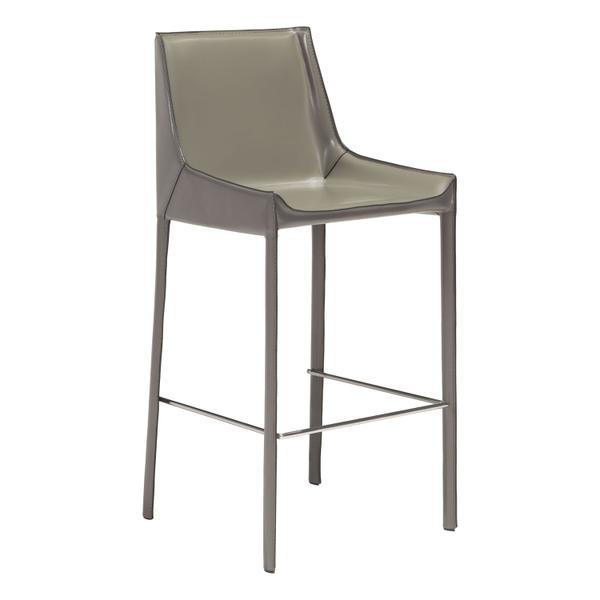 See Details - Fashion Bar Chair Gray