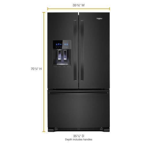 Whirlpool Canada - 36-inch Wide French Door Refrigerator 25 cu. ft.