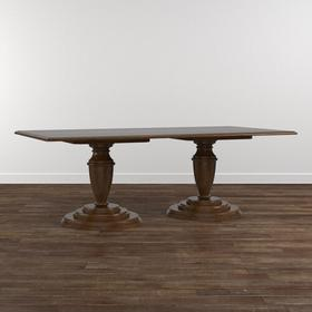 "Custom Dining 108"" Arts & Crafts Wood Table"