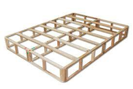 """9"""" Common Queen Box - Wood Foundation"""