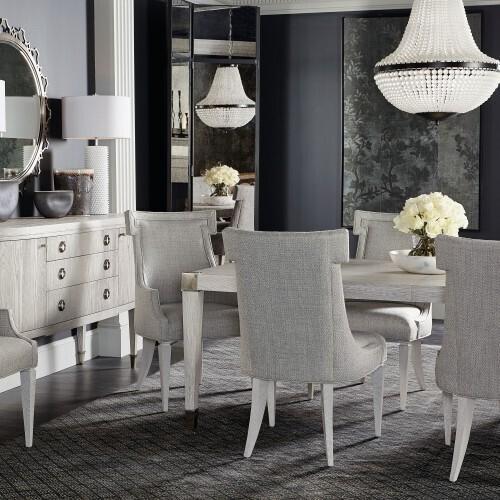 Bernhardt - Domaine Blanc Arm Chair in Dove White (374)